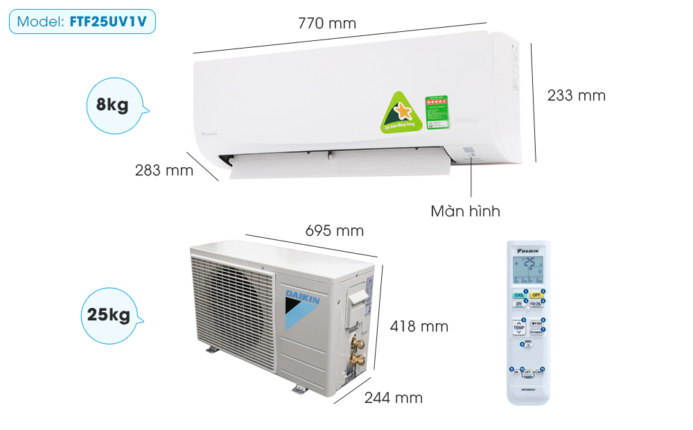 may lanh daikin ftf25uv1v 1 0 hp 5 (1)